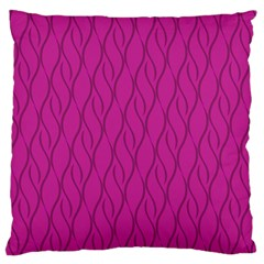 Magenta Pattern Standard Flano Cushion Case (two Sides) by Valentinaart