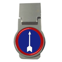 Flag Of Myanmar Army Northern Command  Money Clips (round)  by abbeyz71