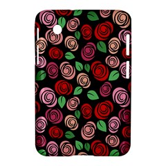 Red and pink roses Samsung Galaxy Tab 2 (7 ) P3100 Hardshell Case  by Valentinaart