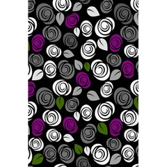 Purple Roses Pattern 5 5  X 8 5  Notebooks by Valentinaart