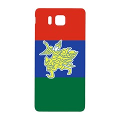 Flag Of Myanmar Kayah State Samsung Galaxy Alpha Hardshell Back Case by abbeyz71