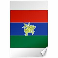 Flag Of Myanmar Kayah State Canvas 24  X 36  by abbeyz71