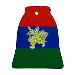 Flag Of Myanmar Kayah State Bell Ornament (two Sides) by abbeyz71