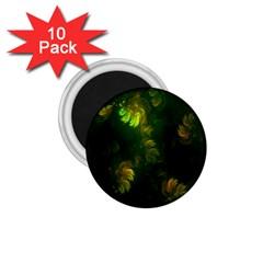 Light Fractal Plants 1.75  Magnets (10 pack)  by Nexatart