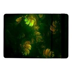 Light Fractal Plants Samsung Galaxy Tab Pro 10.1  Flip Case