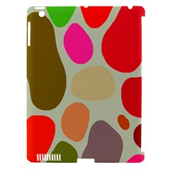 Pattern Design Abstract Shapes Apple iPad 3/4 Hardshell Case (Compatible with Smart Cover) by Nexatart