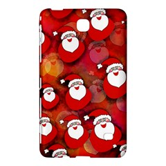 Seamless Santa Tile Samsung Galaxy Tab 4 (8 ) Hardshell Case  by Nexatart