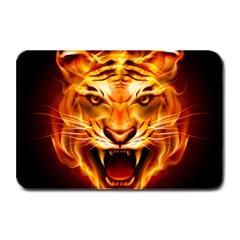 Tiger Plate Mats by Nexatart