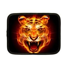 Tiger Netbook Case (Small)  by Nexatart