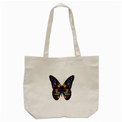 Abstract Animal Art Butterfly Tote Bag (Cream) by Nexatart