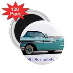 1958 Oldsmobile Super 88 J2 2a 2 25  Magnets (100 Pack)  by Jeannel1