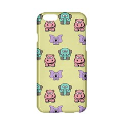 Animals Pastel Children Colorful Apple Iphone 6/6s Hardshell Case by Nexatart