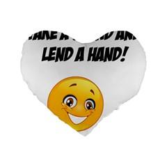 Pizap Com14837108181821 Standard 16  Premium Flano Heart Shape Cushions by athenastemple