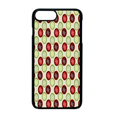 Christmas Pattern Apple Iphone 7 Plus Seamless Case (black) by Nexatart