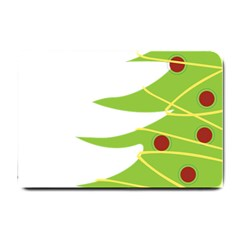 Christmas Tree Christmas Small Doormat  by Nexatart