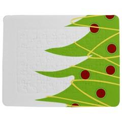 Christmas Tree Christmas Jigsaw Puzzle Photo Stand (rectangular) by Nexatart