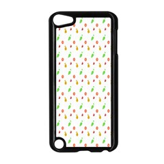 Fruit Pattern Vector Background Apple Ipod Touch 5 Case (black) by Nexatart