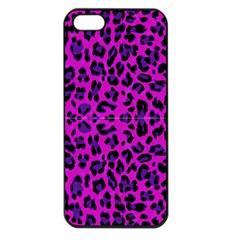 Pattern Design Textile Apple Iphone 5 Seamless Case (black) by Nexatart