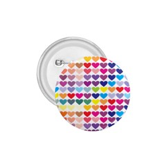 Heart Love Color Colorful 1 75  Buttons by Nexatart