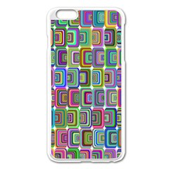 Psychedelic 70 S 1970 S Abstract Apple Iphone 6 Plus/6s Plus Enamel White Case by Nexatart