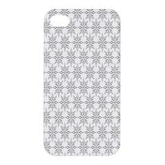 Ornamental Decorative Floral Apple Iphone 4/4s Hardshell Case by Nexatart