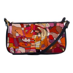 Abstract Abstraction Pattern Modern Shoulder Clutch Bags by Nexatart