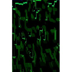 Abstract Art Background Green 5 5  X 8 5  Notebooks by Nexatart