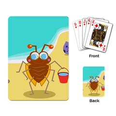 Animal Nature Cartoon Bug Insect Playing Card by Nexatart