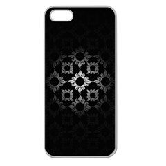 Antique Backdrop Background Baroque Apple Seamless Iphone 5 Case (clear) by Nexatart