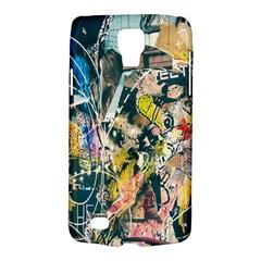 Art Graffiti Abstract Lines Galaxy S4 Active by Nexatart