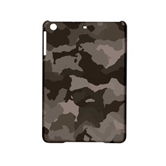 Background For Scrapbooking Or Other Camouflage Patterns Beige And Brown Ipad Mini 2 Hardshell Cases by Nexatart