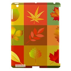 Autumn Leaves Colorful Fall Foliage Apple Ipad 3/4 Hardshell Case (compatible With Smart Cover) by Nexatart