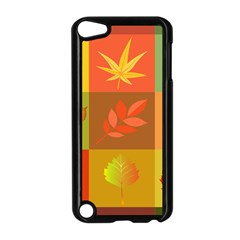 Autumn Leaves Colorful Fall Foliage Apple Ipod Touch 5 Case (black) by Nexatart