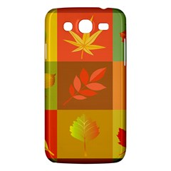 Autumn Leaves Colorful Fall Foliage Samsung Galaxy Mega 5 8 I9152 Hardshell Case  by Nexatart