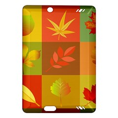Autumn Leaves Colorful Fall Foliage Amazon Kindle Fire Hd (2013) Hardshell Case by Nexatart