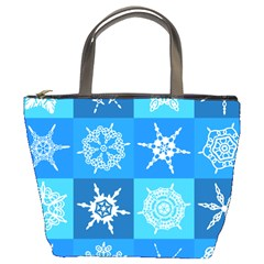 Background Blue Decoration Bucket Bags by Nexatart