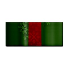 Background Christmas Cosmetic Storage Cases by Nexatart