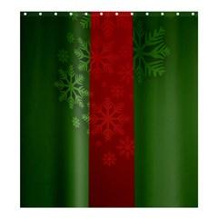 Background Christmas Shower Curtain 66  x 72  (Large)  by Nexatart