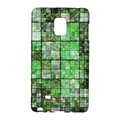 Background Of Green Squares Galaxy Note Edge by Nexatart