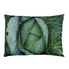 Bright Cabbage Color Dew Flora Pillow Case (two Sides) by Nexatart
