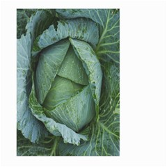 Bright Cabbage Color Dew Flora Large Garden Flag (Two Sides) by Nexatart