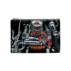 Car Engine Cosmetic Bag (medium)  by Nexatart