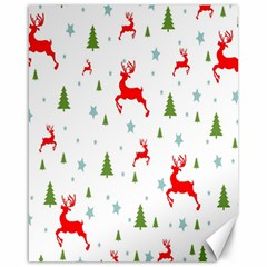 Christmas Pattern Canvas 16  X 20   by Nexatart