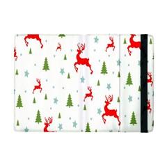 Christmas Pattern Apple Ipad Mini Flip Case by Nexatart