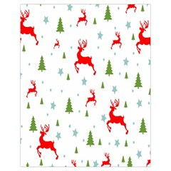 Christmas Pattern Drawstring Bag (small) by Nexatart