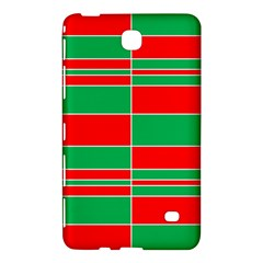 Christmas Colors Red Green Samsung Galaxy Tab 4 (7 ) Hardshell Case  by Nexatart
