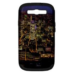 City Glass Architecture Windows Samsung Galaxy S Iii Hardshell Case (pc+silicone) by Nexatart