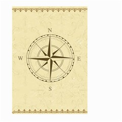 Compass Vintage South West East Large Garden Flag (two Sides) by Nexatart