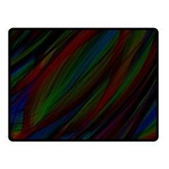 Dark Background Pattern Double Sided Fleece Blanket (small)  by Nexatart