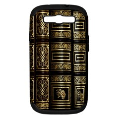 Detail Golden Gold Ornaments Samsung Galaxy S Iii Hardshell Case (pc+silicone) by Nexatart